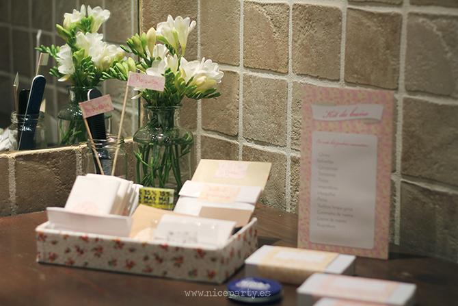 Nice Party boda kit de baño para bodas