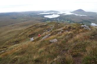 Diamond Hill climb looking towards Atlantic