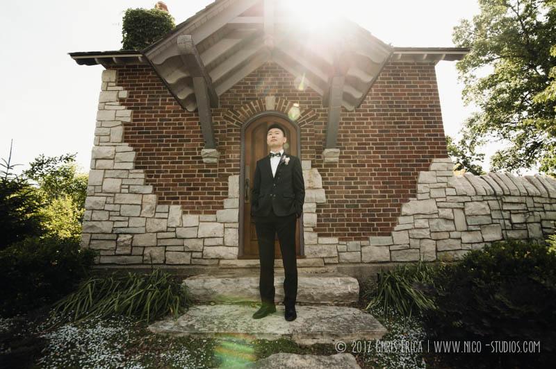 Wellfield Botanical Garden Wedding