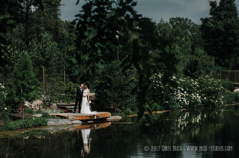 Wellfield Botanical Garden Wedding