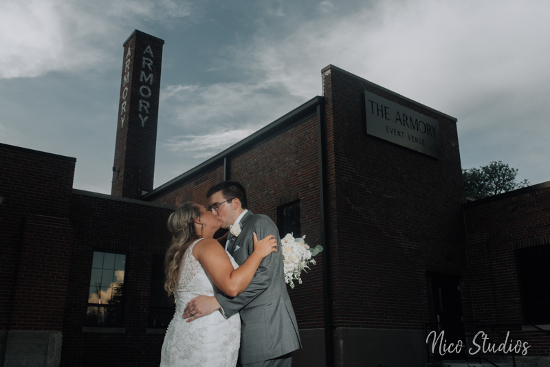 Traditional Rustic Armory Wedding