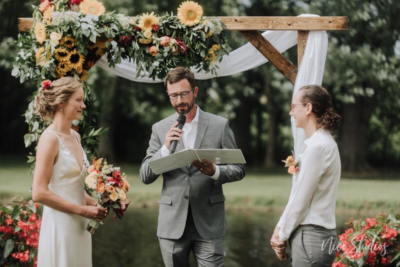 Lakeville Backyward Wedding