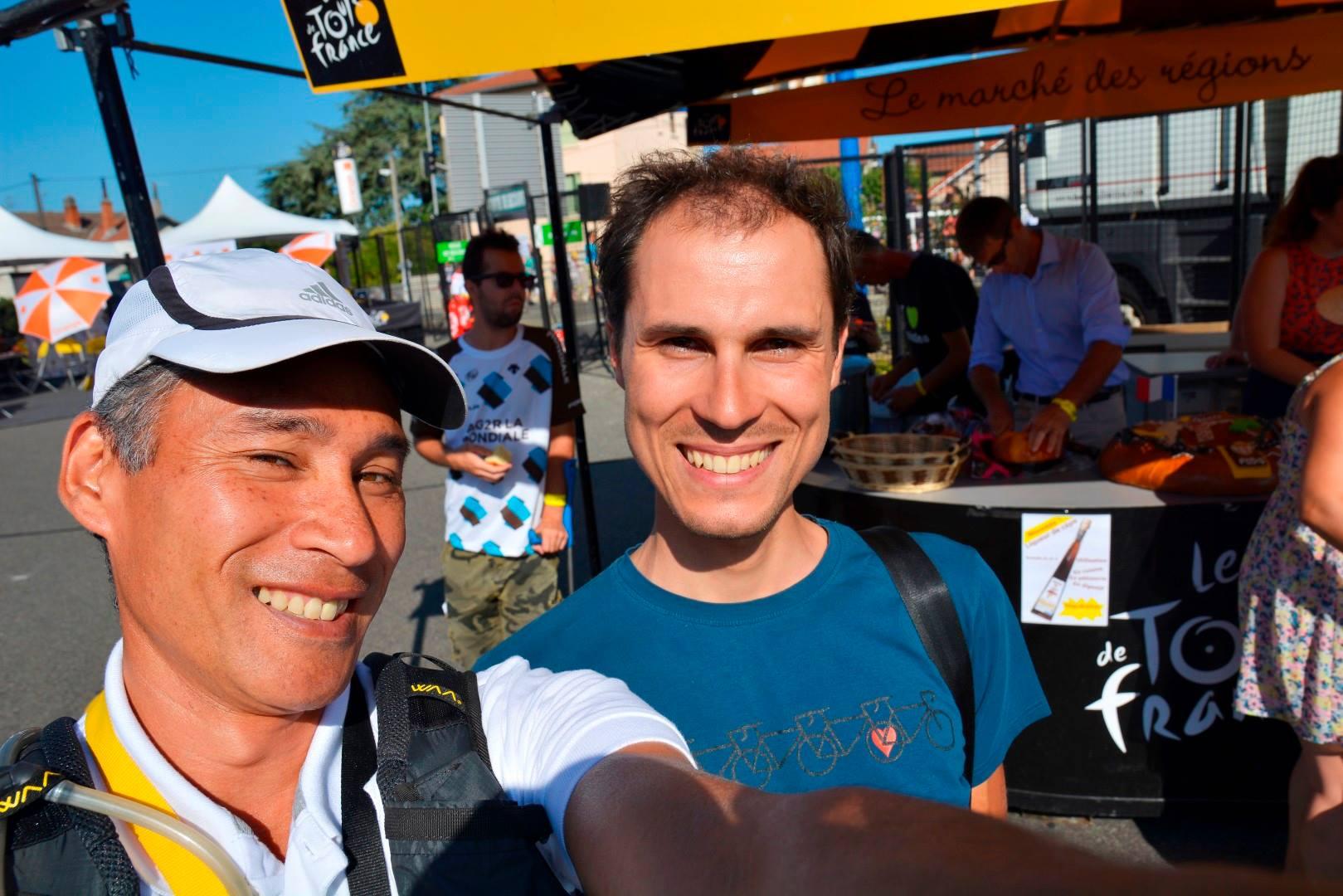 Avec Jean-Marie (alias akunamatata) © Akunamatata