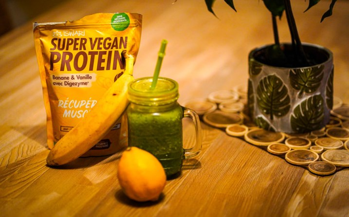 super vegan smoothie green splash