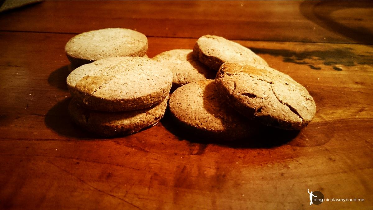 [:fr]Sablés au sarrasin à l'huile de Coco, saveur pain d'épices [:]
