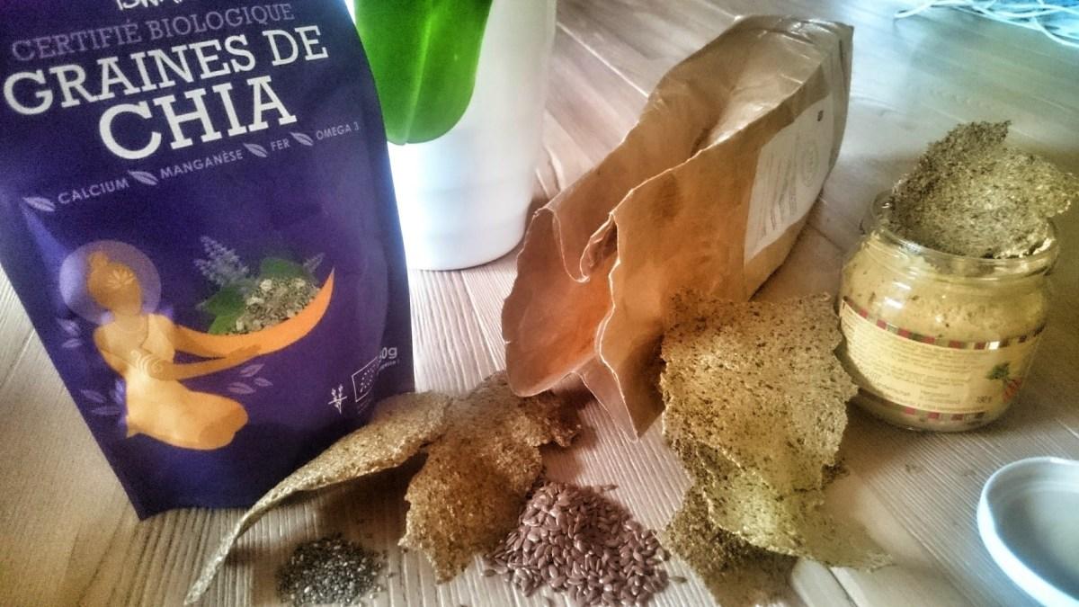 [:fr]Crackers aux graines de lin et de chia aux 3 épices[:]