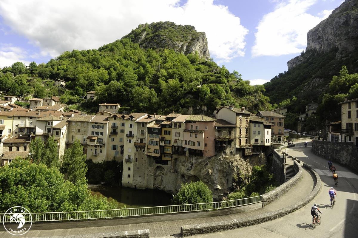 Village de Pont-en-Royans par David Boudin