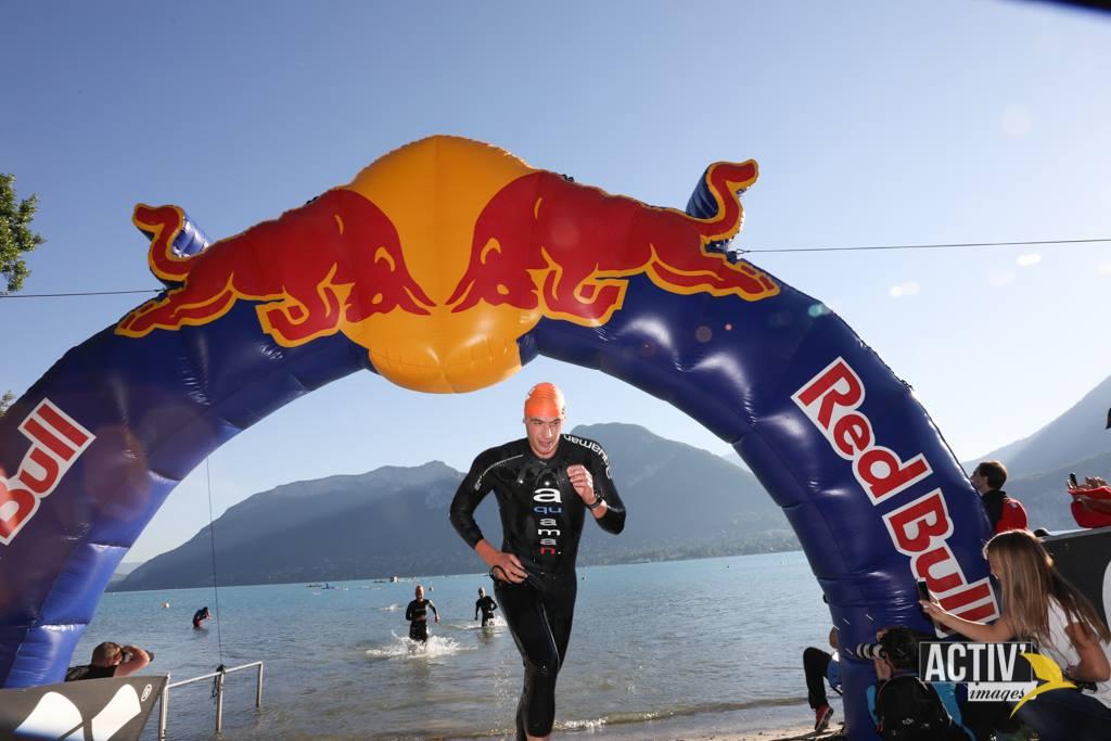 arrivée triathlon nageur alpsman xperience activimages