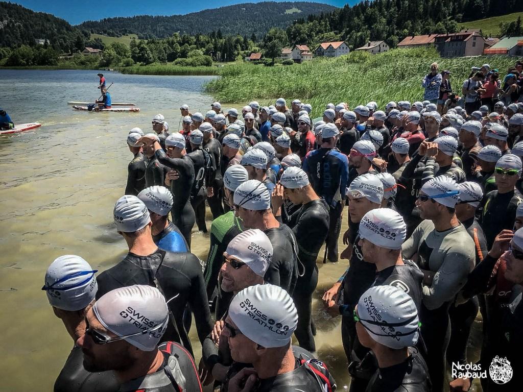 départ natation xterra suisse
