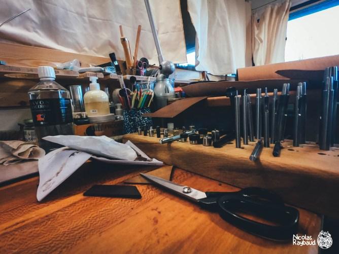 atelier de maroquinerie vercors native à die
