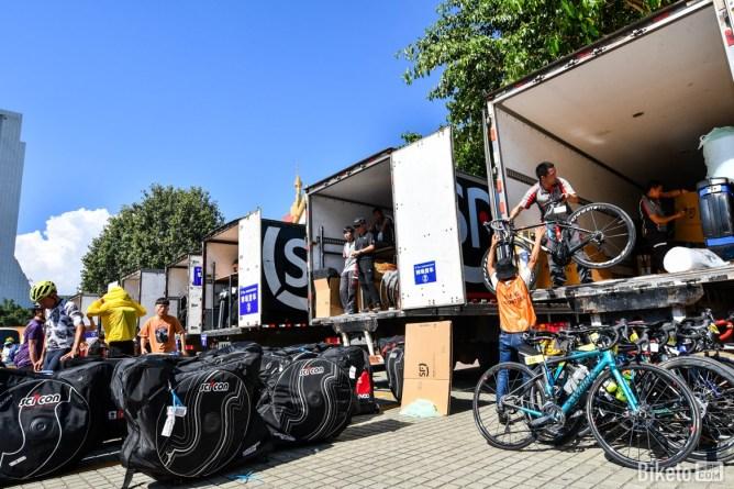 transport sf express des vélos