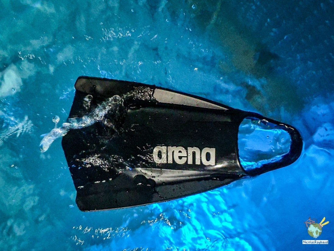 palme de natation powerfin pro arena