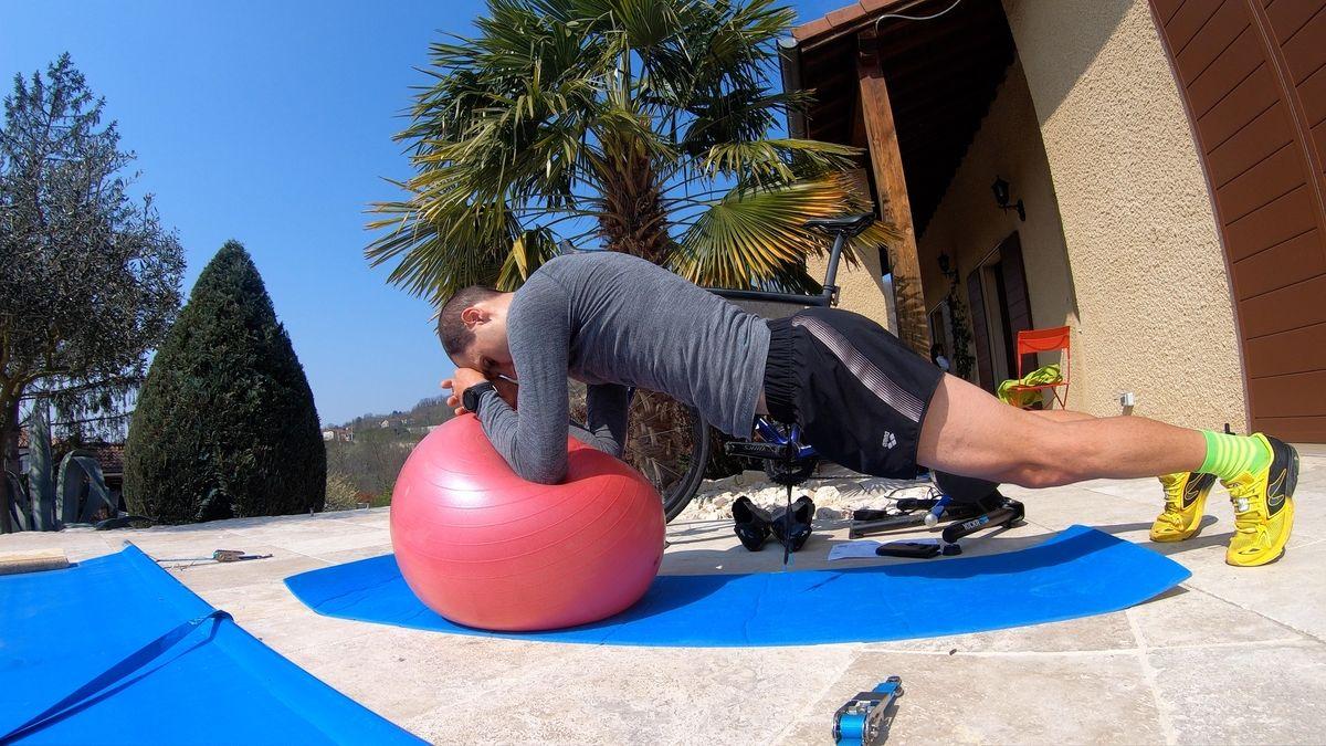 exercice planche ventral