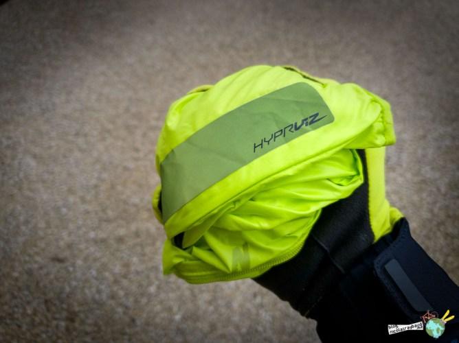 veste coupe vent hyperviz specialized bande reflechisante