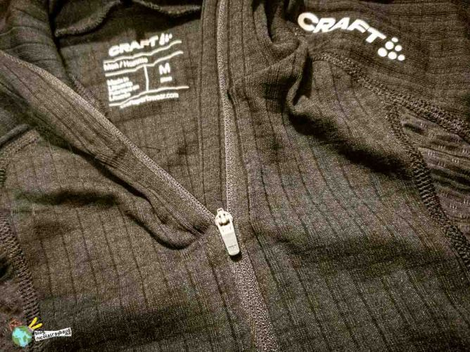 craft sportwear baselayer active extreme zip
