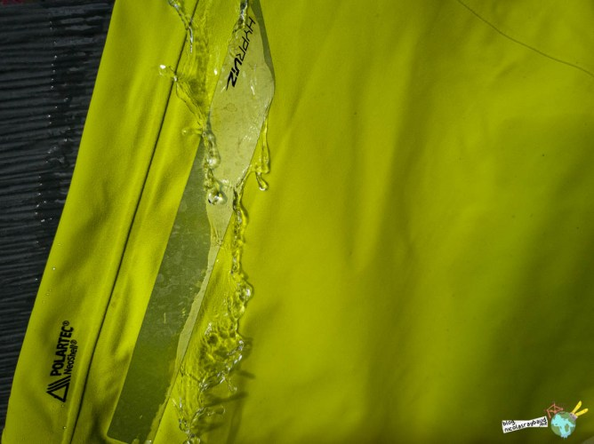 veste de pluie neoshell polartech hyperviz