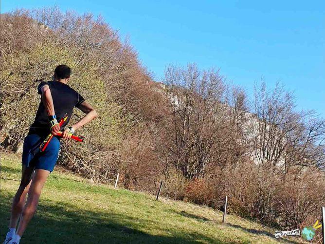 courir avec la ceinture instinct trail reflex belt