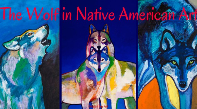 The Portrayal of the Wolf in Native American Art