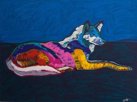 Wolf-in-Native-American-Art