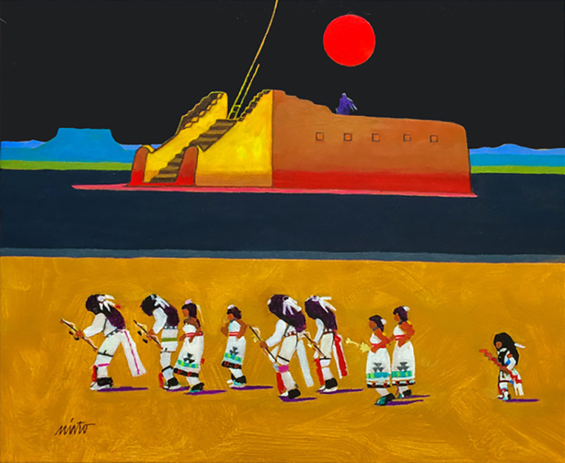 contemporary Native American art | Contemporary Fine Art Blog