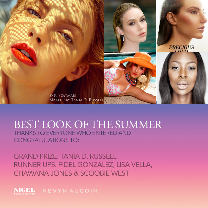 kevyn aucoin best look of the summer winners