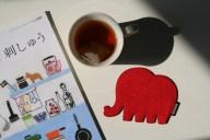 niizo創意動物造型杯墊
