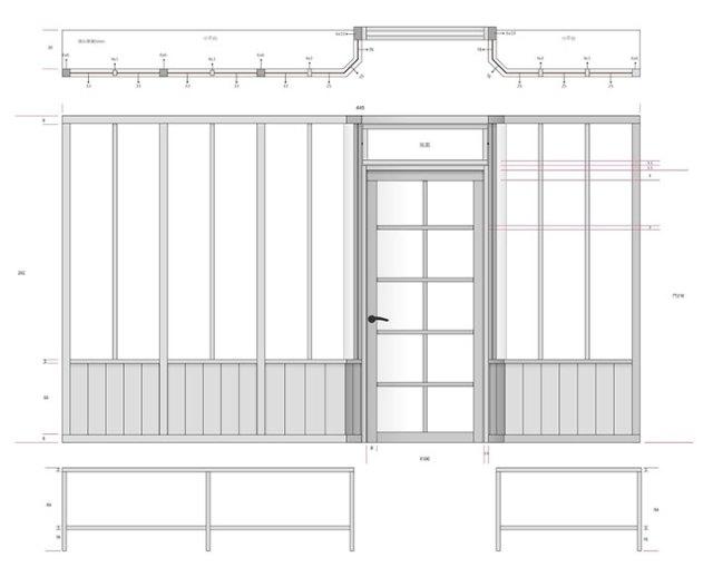 工作室門面門面設計-最後拍板