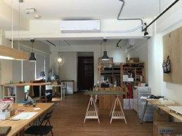 很舒服的手作教室空間