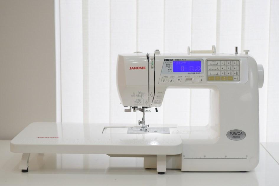 Janome A8000縫紉機加輔助桌板