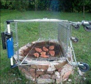 购物车烤肉