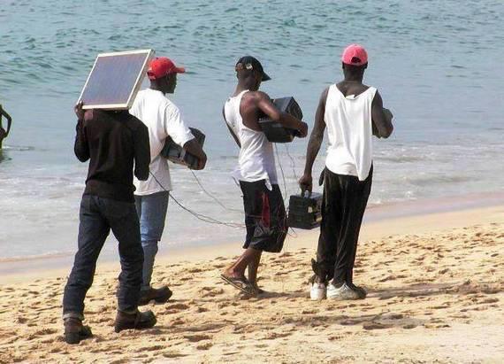 太阳能音箱