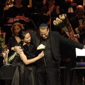 Nino Surguladze with Daniel Oren