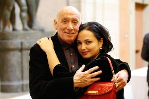 Nino Surguladze and Pinchas Steinbeg in Bologna