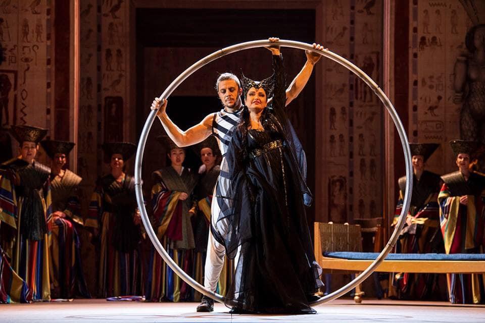 Nino Surguladze at Opera Royal de Wallonie - Amneris
