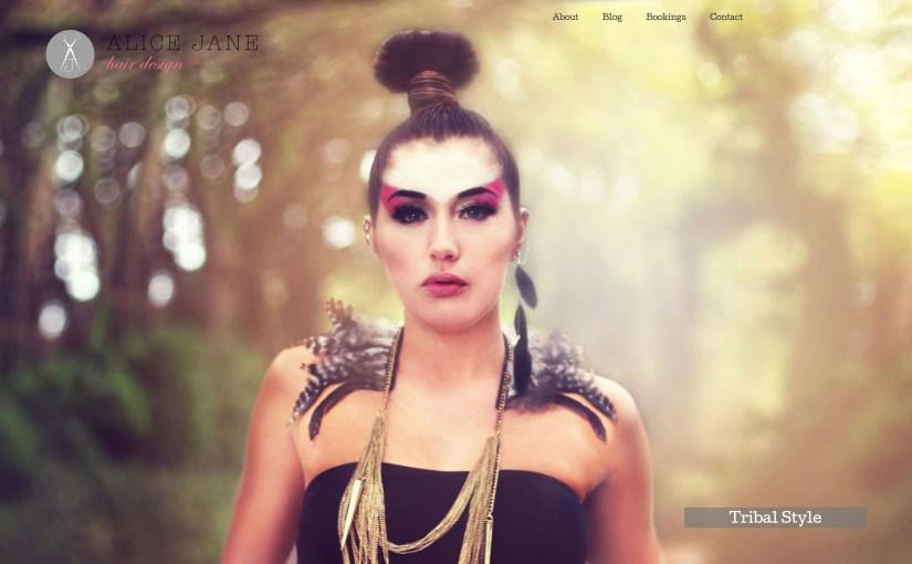 Alice Jane Hair - Homepage Slideshow