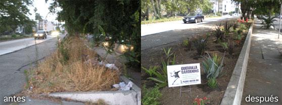 Jardineros de guerrilla