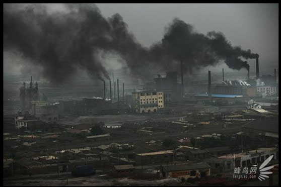 Polucion China