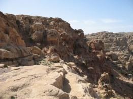 Petra: Trekkingpfade im Gebirge