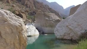 Pool im Wadi Tiwiamd