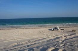 Oman Dachzelt am Strand 2016