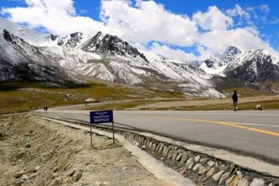 Grenze nach Pakistan