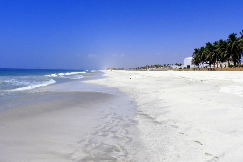 P. Roberts: Oman 2016 - Am Strand von Salalah, 27.03.