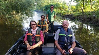 Bootsfahrt auf dem Mordab bei Bandar Anzali