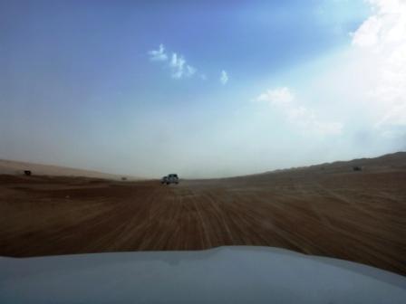 Fahrt in die Wüste