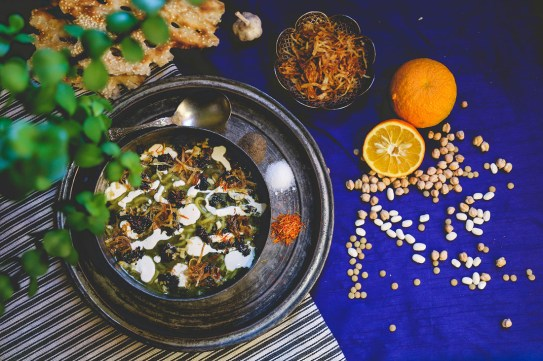 Die persische Küche lebt von frischen Zutaten