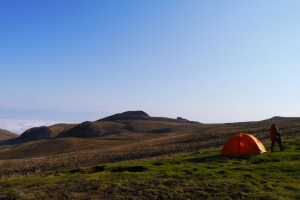 Iran: Zelt in den Sabalan Bergen