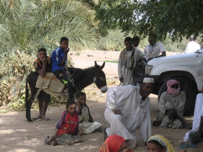 Sudan: Rastplatz im Schatten