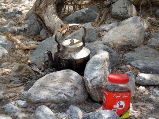 Zubereitung des Chai Tees