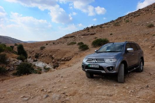 Jordanien: unser Mietwagen