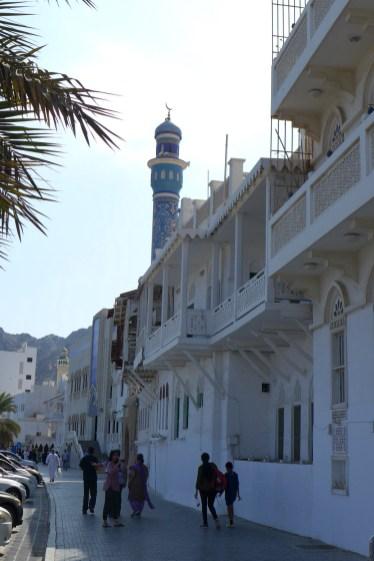 Oman: an der Corniche in Muscat